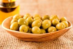 zielone oliwki Obraz Stock