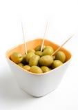 zielone oliwki Obrazy Royalty Free