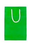 Zielone papierowe torby Obrazy Royalty Free