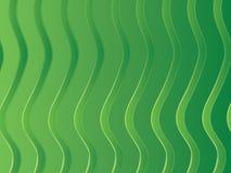 zielone paski Fotografia Royalty Free