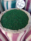 zielone peppercorns toreb Zdjęcia Royalty Free