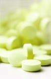 zielone pigułki Obrazy Stock