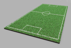 zielone pola trawy tła futbolowa konsystencja Obraz Stock