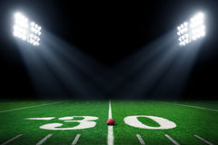 zielone pola trawy tła futbolowa konsystencja Zdjęcie Stock
