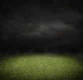 zielone pola trawy tła futbolowa konsystencja Fotografia Stock