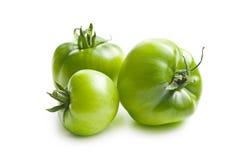 zielone pomidory Obrazy Royalty Free