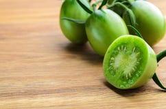 zielone pomidory Obrazy Stock
