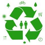 zielone pomysły. Obrazy Stock
