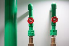 Zielone PVC wysokości naciska drymby obrazy royalty free