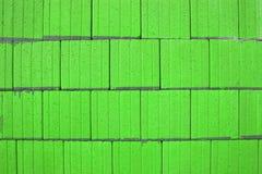 zielone streszczenie kwadraty wapna Zdjęcia Stock