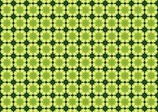 zielone streszczenie schematu Obraz Royalty Free