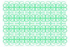 zielone streszczenie schematu Fotografia Royalty Free