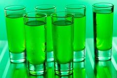 zielone strzały zdjęcie royalty free