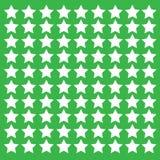 zielone tło gwiazdy Obraz Royalty Free