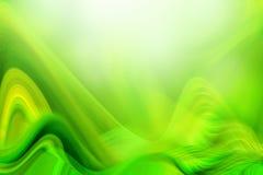 zielone vawes ilustracji