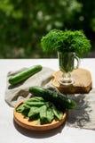 zielone warzywa świeże Obrazy Royalty Free