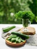 zielone warzywa świeże Obraz Royalty Free