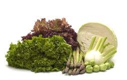 zielone warzywa Obrazy Stock