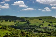 zielone wzgórza Zdjęcie Royalty Free