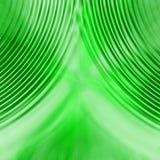 zielone zasłony. Zdjęcie Stock
