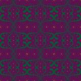 Zielonego deseniowego purpurowego tła projekta koloru żółtego gwiazdy purpurowe abstrakcjonistyczne grafika Obrazy Stock