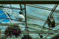 Zielonego domu dach Obrazy Royalty Free