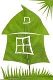 Zielonego domu pojęcie Fotografia Royalty Free