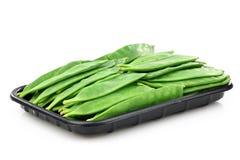 zielonego grochu strąki Zdjęcie Royalty Free