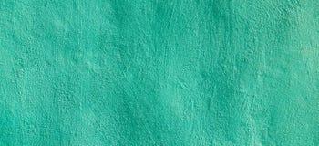 Zielonego grunge tynku tekstury sztandaru formalnie tło Fotografia Royalty Free