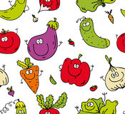 Zielonego jedzenia wzór Zdjęcie Stock