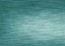 Zielonego koloru cajgów tekstura Zdjęcie Royalty Free