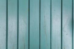 Zielonego koloru drewniany panel jako tło Zdjęcie Royalty Free