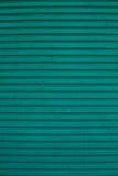 Zielonego koloru toczna żaluzja obraz royalty free