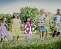 Zielonego Koniczynowego liścia inspiraci Środowiskowy pojęcie Obraz Royalty Free