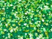 Zielonego liścia natury abstrakcjonistyczny wzór, tło Zdjęcie Stock