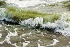 Zielonego morza fala Zdjęcie Stock