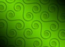Zielonego papieru geometryczny wzór, abstrakcjonistyczny tło szablon dla strony internetowej, sztandar, wizytówka, zaproszenie Fotografia Royalty Free