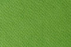 Zielonego papieru tekstura Fotografia Royalty Free