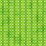 Zielonego rhombus bezszwowy wzór z grunge skutkiem Obrazy Royalty Free