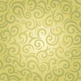Zielonego rocznika retro tapetowy wektorowy projekt Obraz Stock