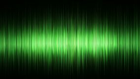 Zielonego waveform tła bezszwowa pętla zbiory