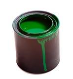 zielonej farby Fotografia Stock