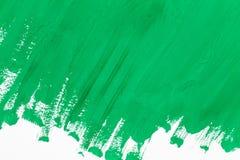zielonej farby Zdjęcia Stock