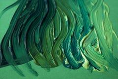 zielonej farby Zdjęcia Royalty Free