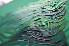 zielonej farby Obraz Stock
