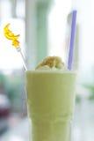 Zielonej herbaty smoothie Zdjęcie Royalty Free