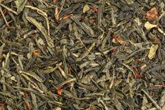 Zielonej herbaty tekstura Obrazy Royalty Free