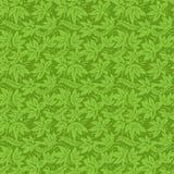 Zielonej rośliny wzór royalty ilustracja