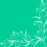 Zielonej rośliny ornament Fotografia Royalty Free