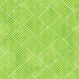 Zielonej tkaniny bezszwowa tekstura z grunge skutkiem Fotografia Stock